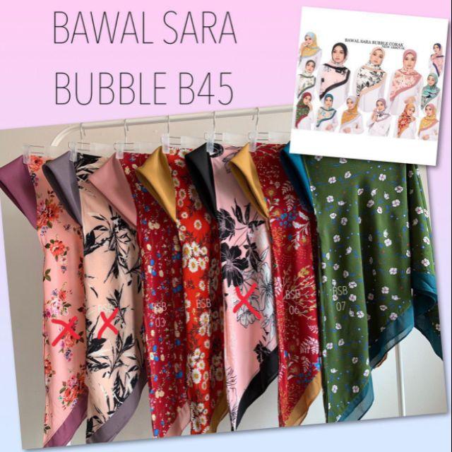 BAWAL SARA BUBBLE (BIDANG 45)