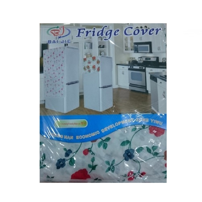 MALAYSIA] PELAPIK PETI SEJUK PVC Anti-dust Waterproof Oil-proof Refrigerator Fridge Cover