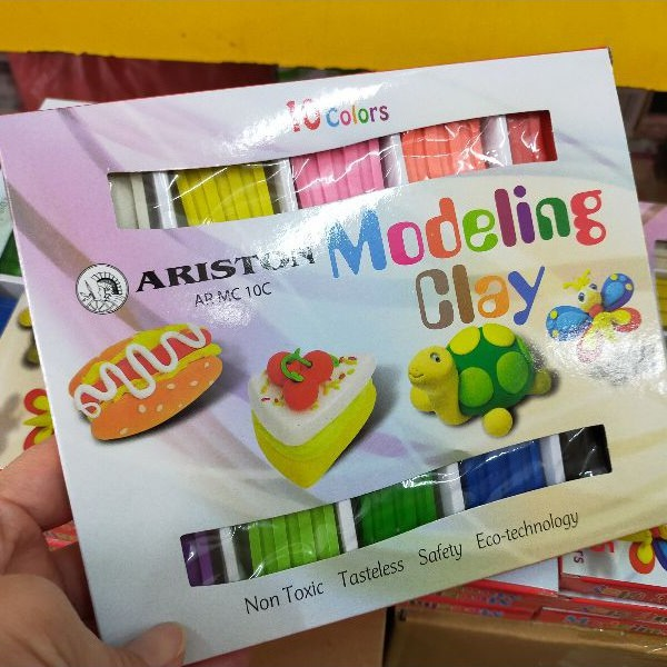 Ariston Modeling Clay 10 Colour AR MC 10C