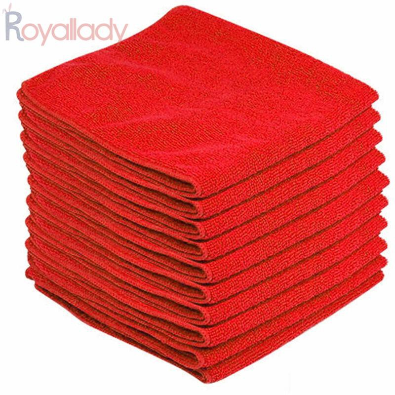 Towels Red Bathroom Accessories Aseptic Workshop 10pcs Polyester Cloth Shopee Malaysia