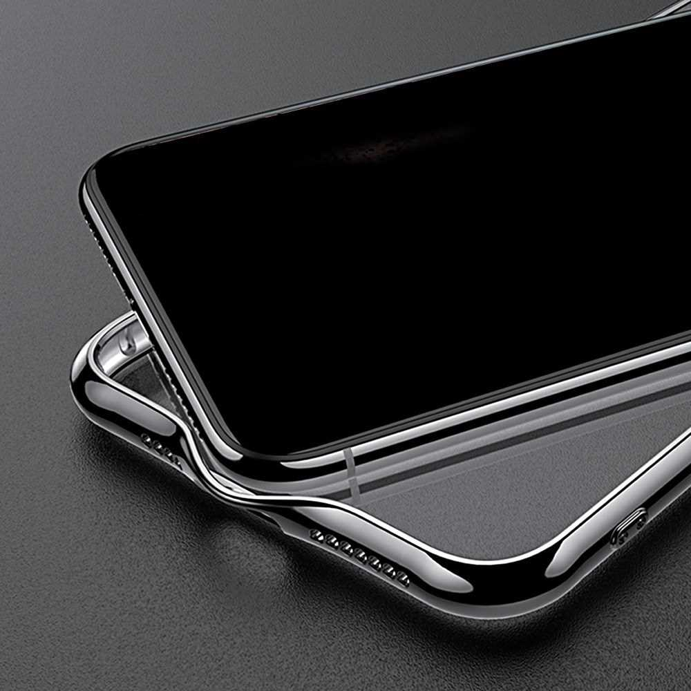 Protective Phone Case 360° Protection Anti-scratch Ultra-thin Transparent TPU Soft Plated Mobile Phone Back Cover for