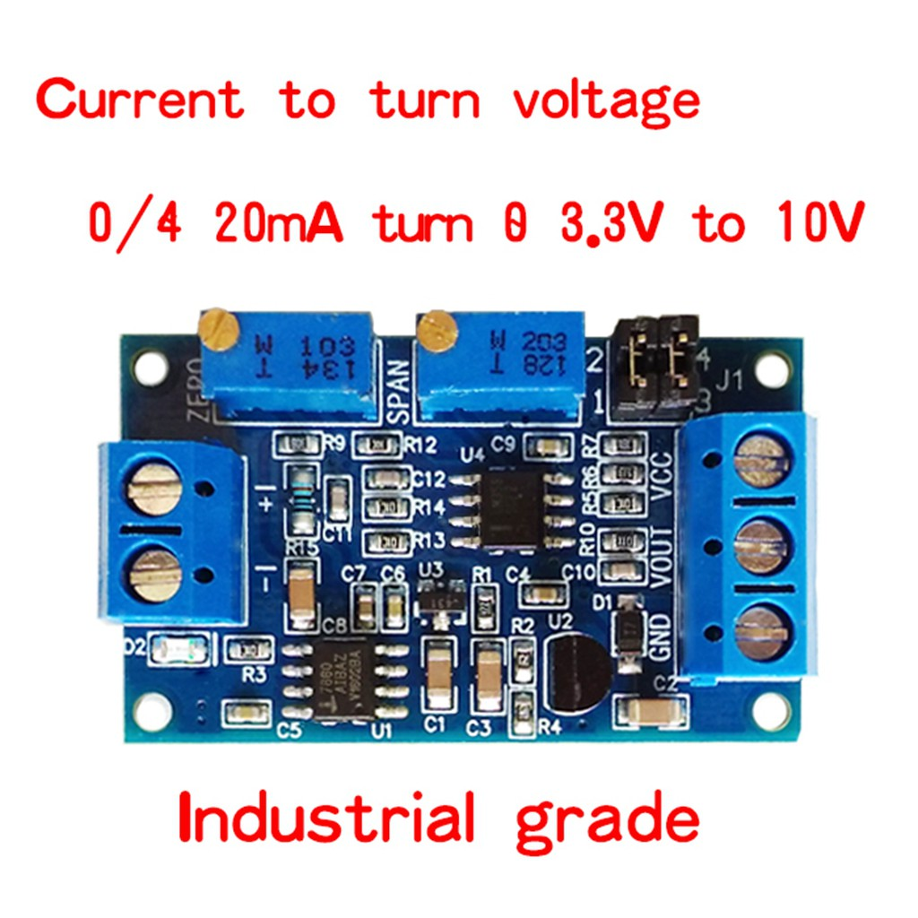 1pc 50150 4 20ma Temperature Sensor Transmitter Module Rtd Pt100 Water Circuit 420ma Buy Sbw Shopee Malaysia