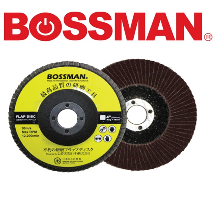 """4"""" 100mm BFD60/BFD80/BFD100/BFD120/BFD180/BFD240 DIAMOND CUTTING WHEEL ABRASIVE FLAP DISC Sand Paper EASY USE SAFETY"""