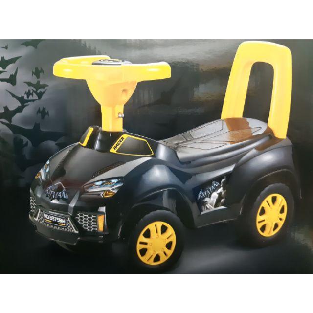 (READY STOCK) Batman Push Car Toys With Handle Racer Car kids