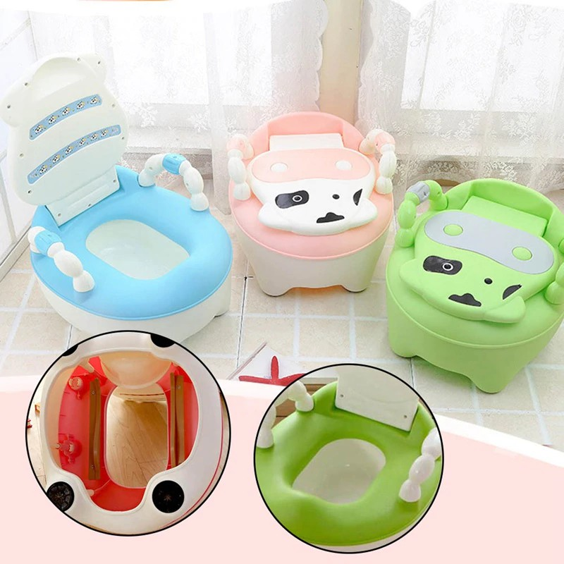 Baby potty toilet bowl training toilet seat children's pot kids bedpan portable