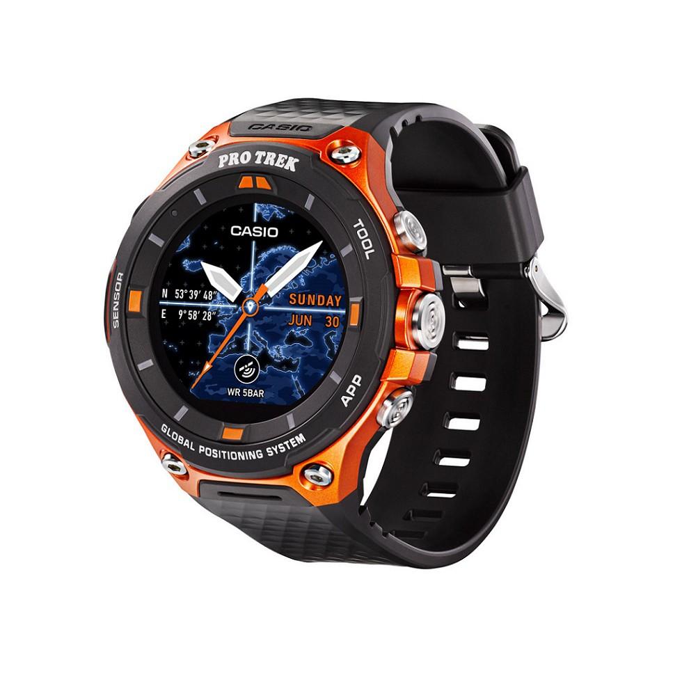 Casio Pro Trek Smart Watch Wsd F20rg Shopee Malaysia