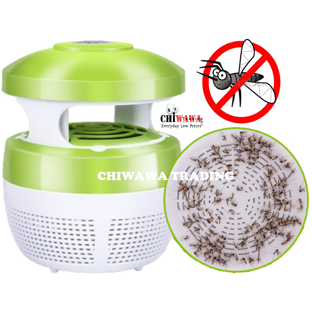 Electronic Mosquito Killer Lamp Repellent Light Pest Control Reject 6 LED