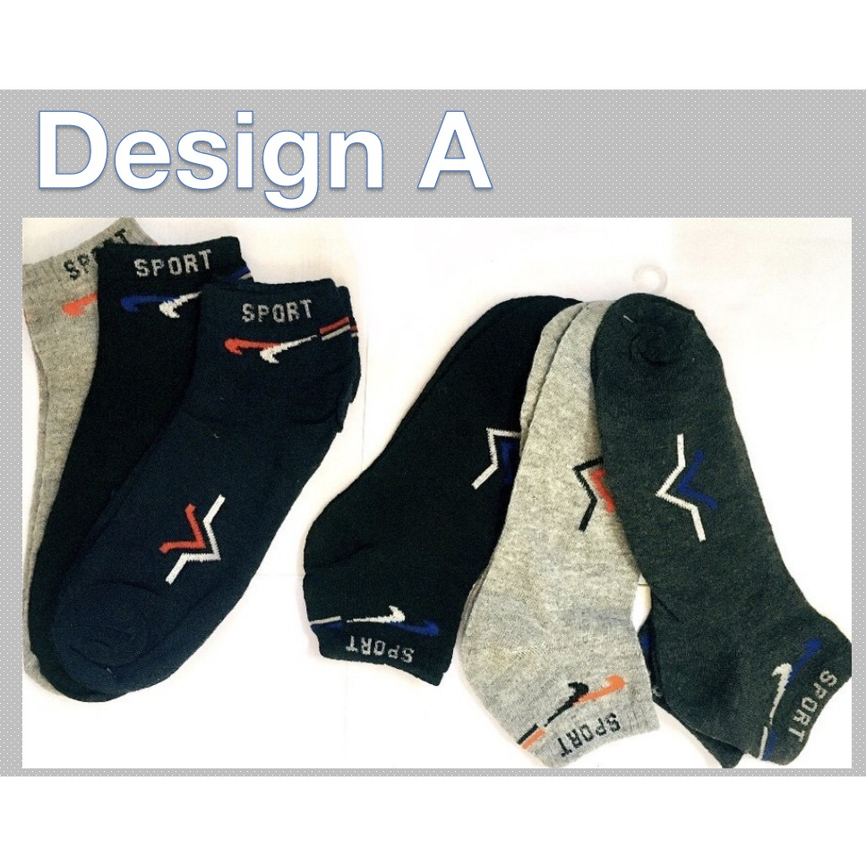 Sports Comfortable Casual Unisex Low Cut Socks Cotton Blended Thermal  Socks