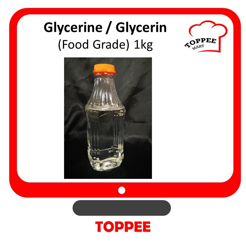 Glycerine 1kg Glycerin [Food Grade] [New Item]