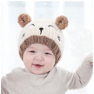 5adbceec0 Cute Baby Boy Girl Knit Winter Hat Toddler Kids Warm Beanie Cap For ...