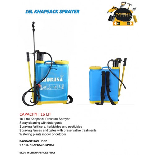 16L SPRAYER KNAPSACK SPRAYER