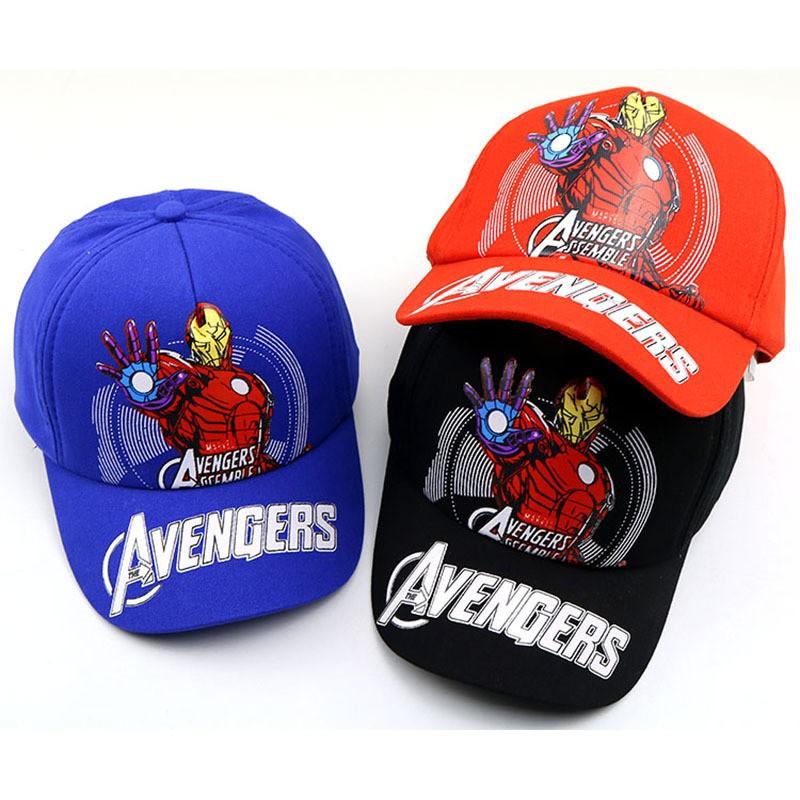 727ec8e1d3b592 Children's Hat Iron Man Baseball Cap Avengers Kids Cap Hip-Hop Hat 2Y-8Y  Cartoon | Shopee Malaysia