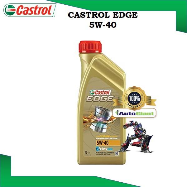 Castrol EDGE 5W-40 SN Engine Oils for Petrol and Diesel Cars (1L) (100% ORIGINAL)