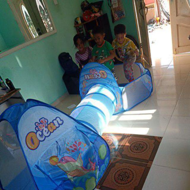 [M'sia] 3 In 1 (Ocean) Baby Kids Ball Pit Pool Game Play ...