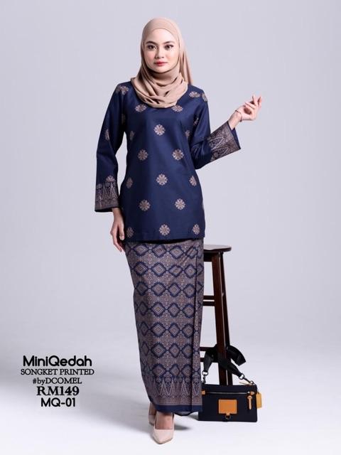 Baju Kurung Kedah Mini Qedah Mq 1 8 Shopee Malaysia