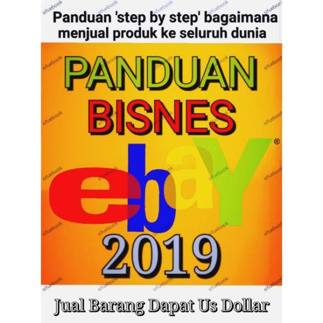 E-book Panduan Lengkap Jual Produk Pos Barang & Dropship Menjana Di ebay +  COMBO 5 EBOOK PERCUMA