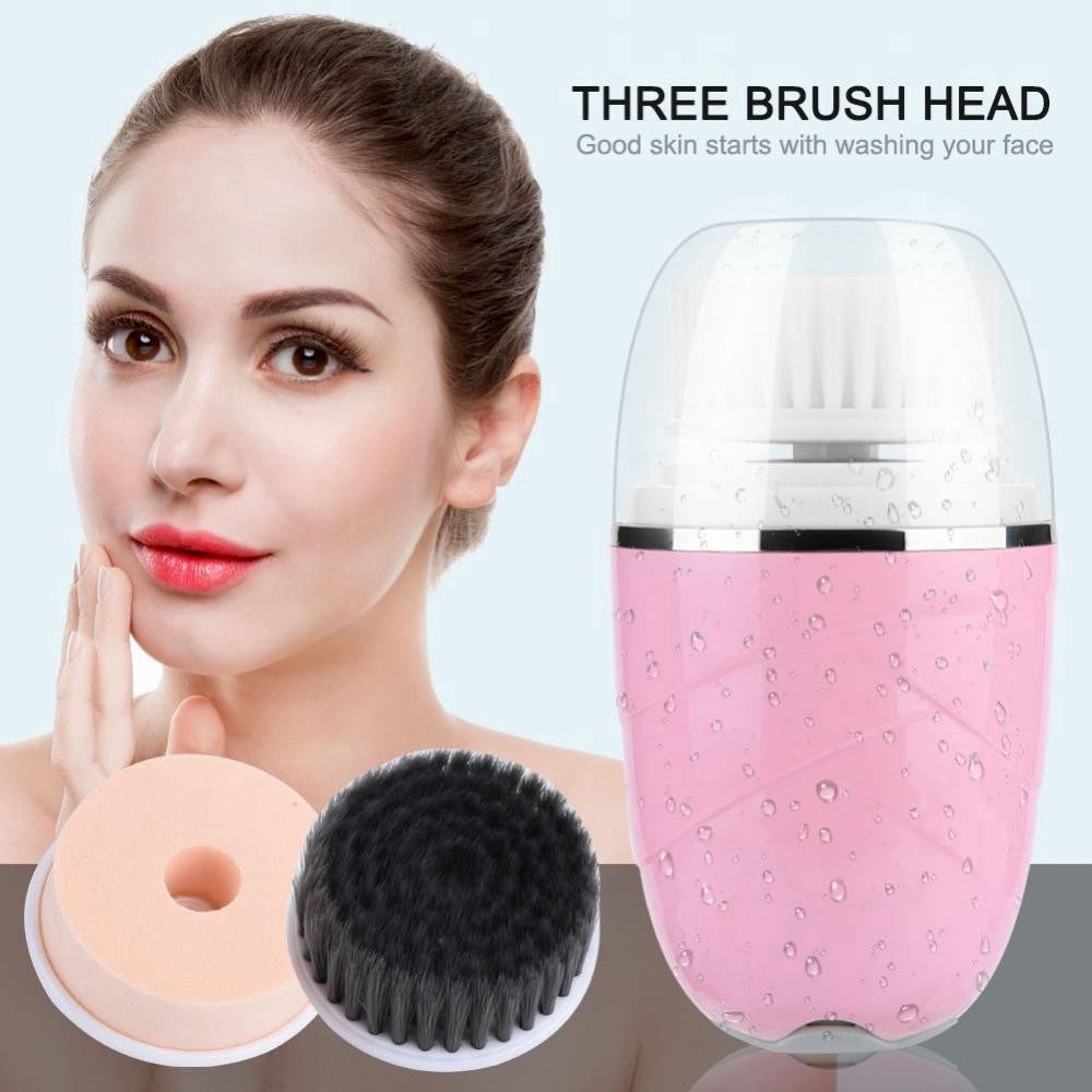 Electric Face Cleaning Brush Face Care Massager Makeup Removing