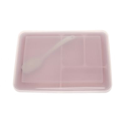 Portable Lunch Box Food Fruit Storage Sealed Container (PINK)