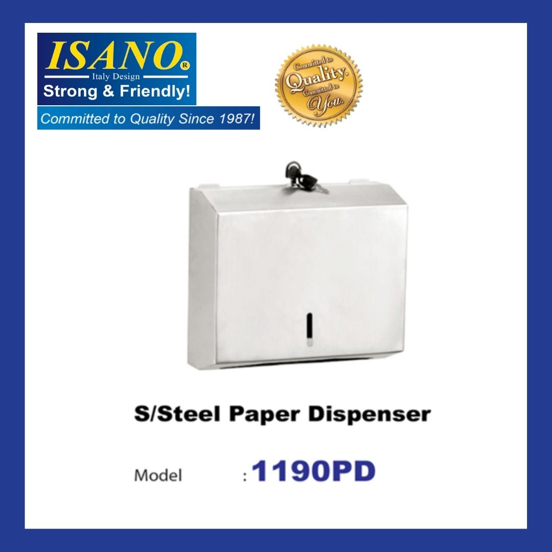 ISANO 1190PD Stainless Steel Paper Dispenser