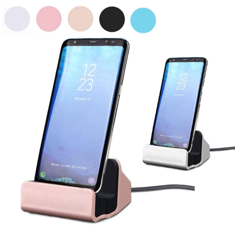 Sync and Charging Dock Station Desktop Charger Stand For IPhone and Android