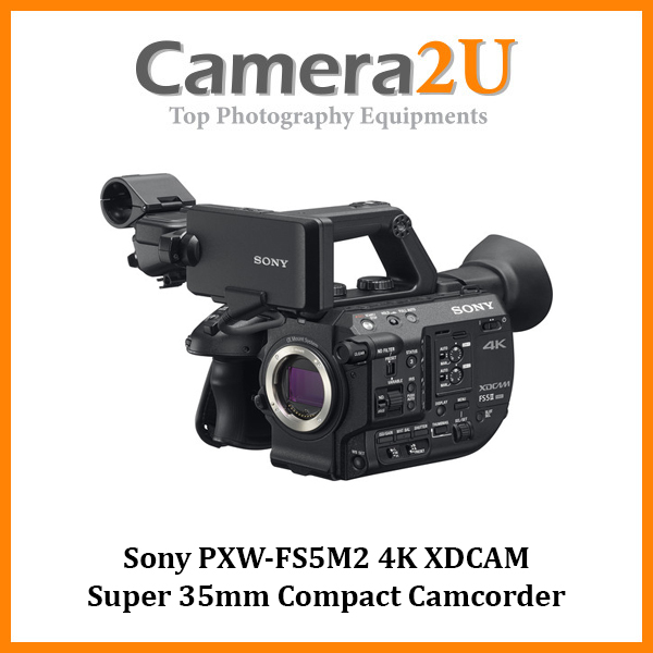 Sony PXW-FS5M2 4K XDCAM Super 35mm Compact Camcorder (Sony MSIA)