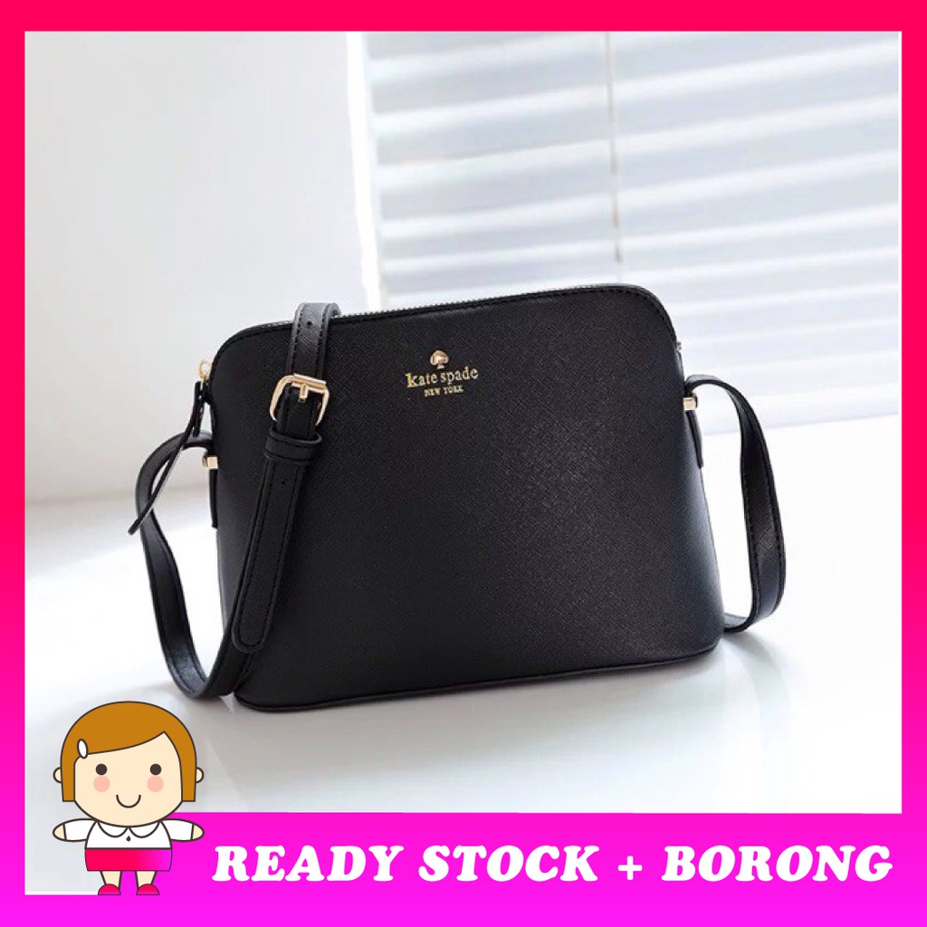 Cuteborong Promotion Ready Stock Kate Spade Lady Sling Handbag Beg Bag Bags Tote Sho Malaysia
