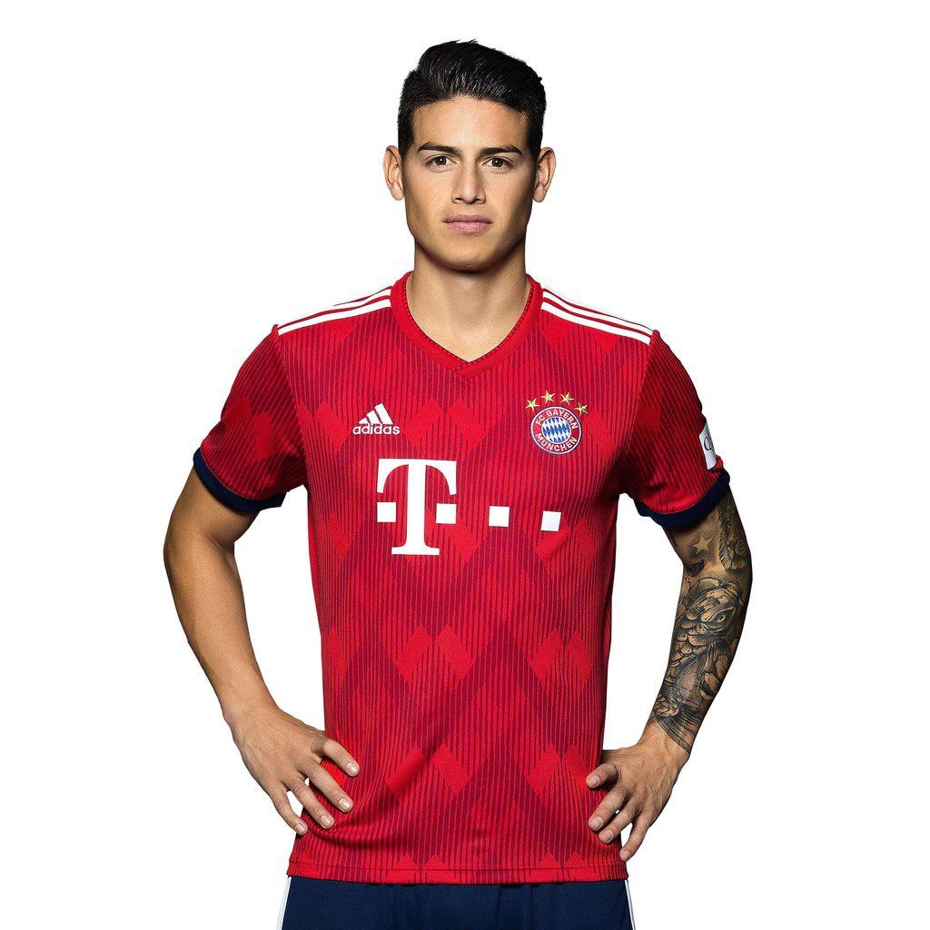 best sneakers 21b29 7351a 2018/19 Bayern Munich Home Kit