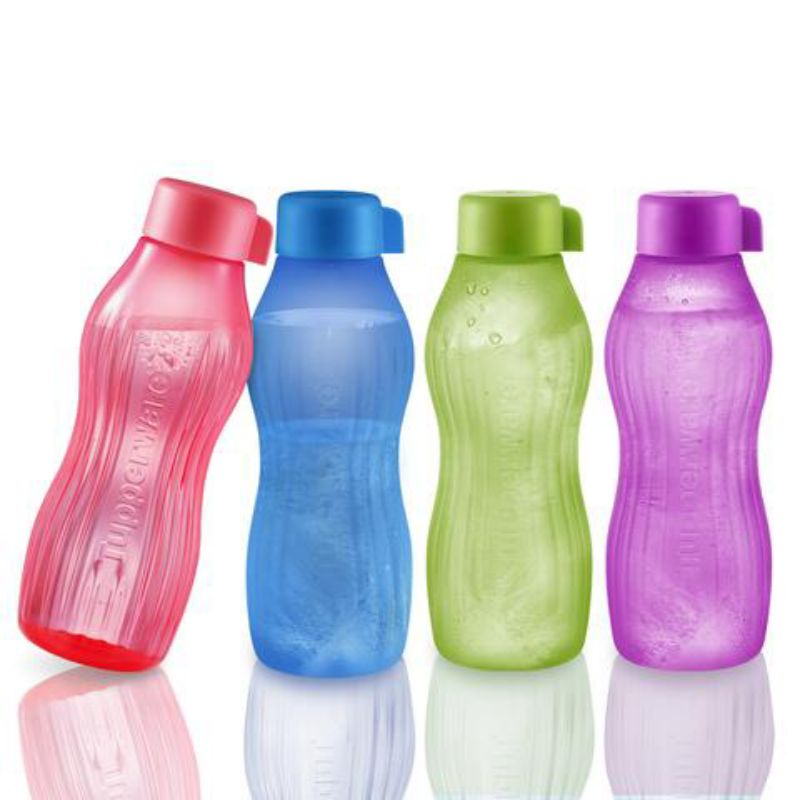 Tupperware Xtreme Aqua 880ml (2pcs with pouch / 4pcs with pouch)