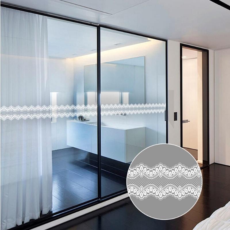 1 Sheet Wall Sticker Lace Baseboard Waistline Window Sticker Kids Girl Bedroom Glass Mirror Cabinet Home Decoration Shopee Malaysia
