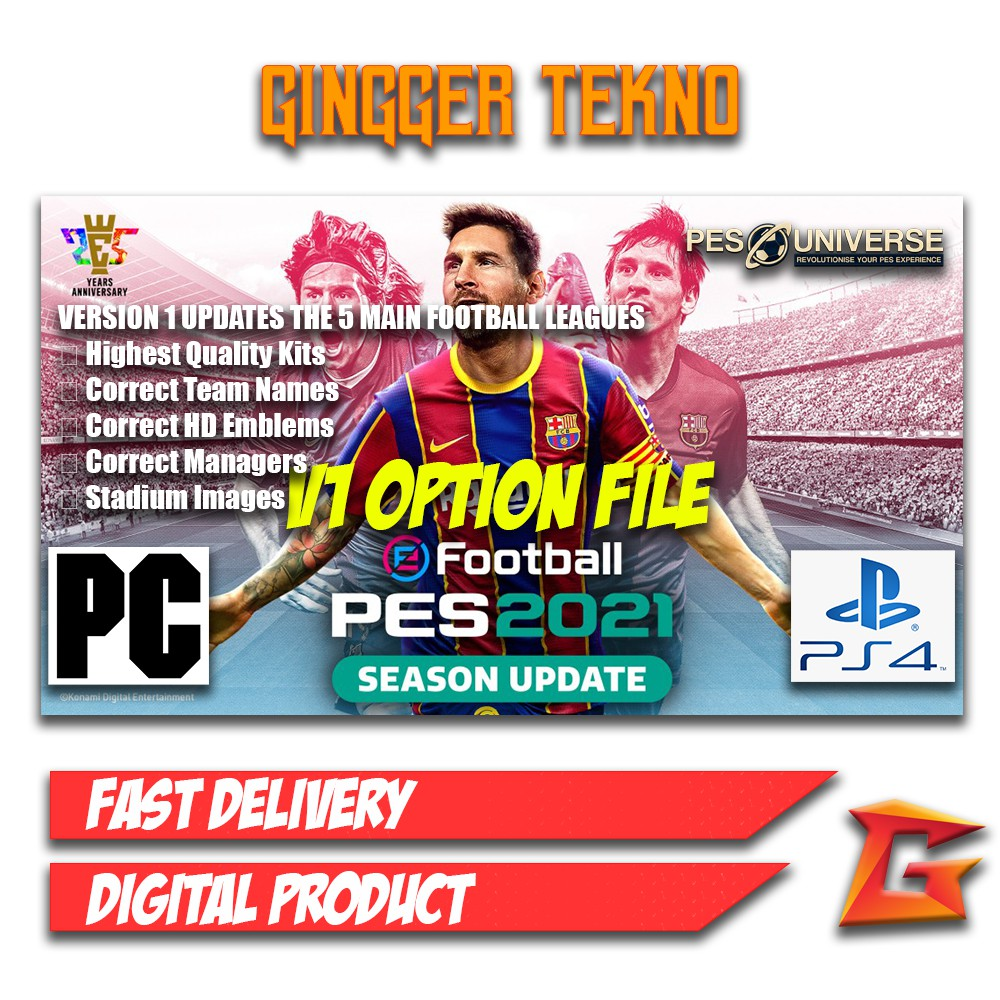 Pes 2021 Patch Ps4