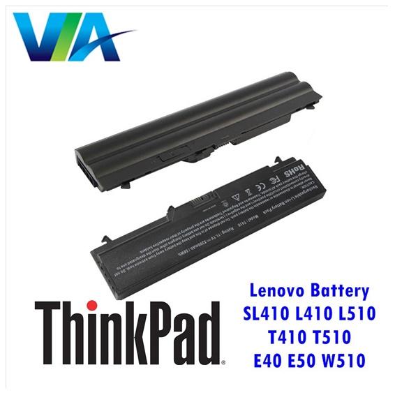 BATTERY LENOVO ThinkPad L410 L510 T410 T510 E40 E50 W510
