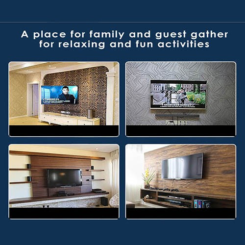 TV Wall Mount Bracket fit for LED LCD TV Size 14-42 inch