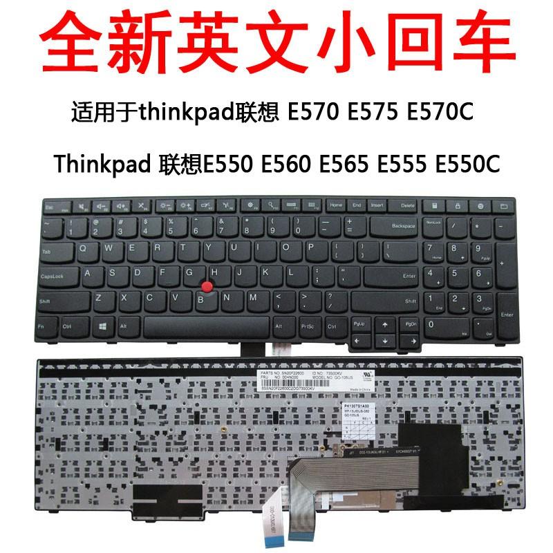 Thinkpad Lenovo E550 E560 keyboard E565 E555 E550C keyboard E570 E575  keyboard