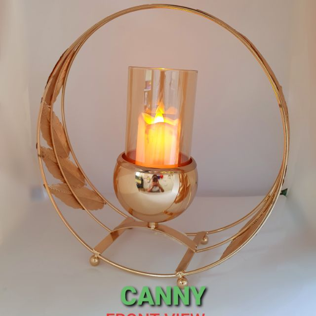 🔥 Copper Steal Candle Housing with FREE CANDLE / Copper Steel Tempat Lilin dengan FREE LILIN 🔥