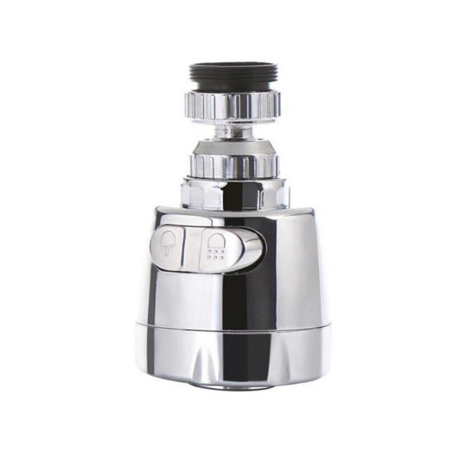【Ready stock】Water Save Anti-Splash Rotatable Faucer Filter Sprayer Diffuser Kitchen Tap Head