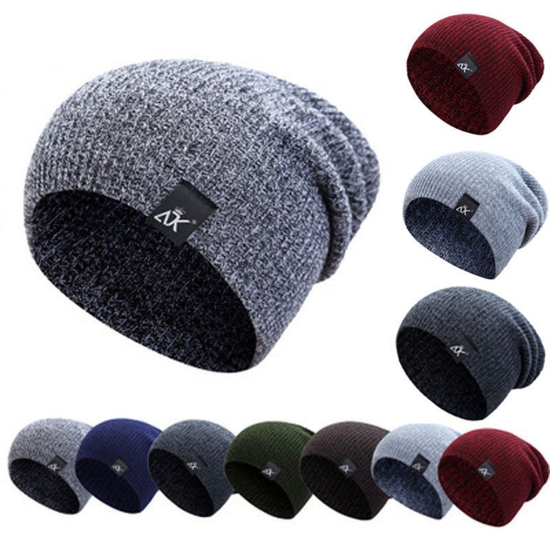 61dbf74aae3658 Korean fashion autumn and winter rabbit fur ball knit hat warm earmuffs wool  cap | Shopee Malaysia