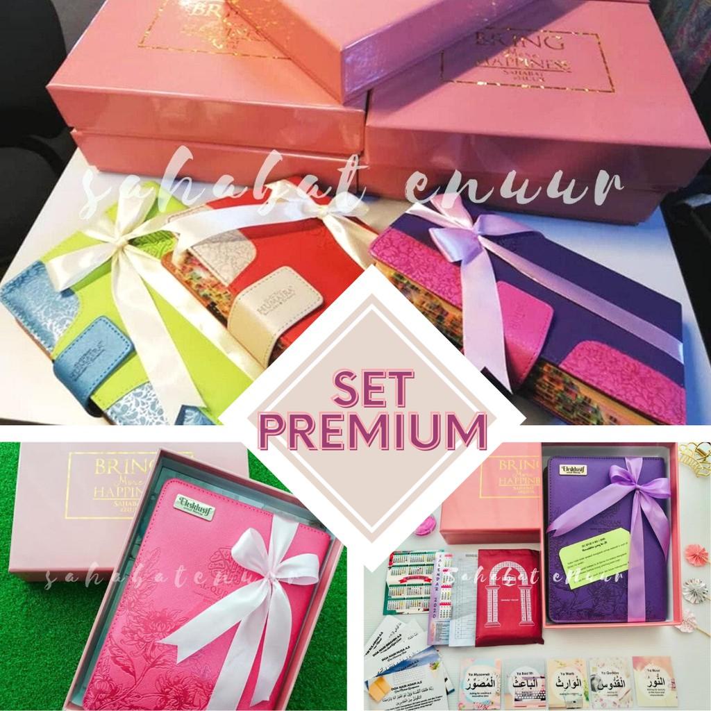 ADD ON Set Premium Gift Set Box Exclusive Al Quran Hadiah dan Hantaran Enuur Tagging Method (ETM) EMMEMARINA