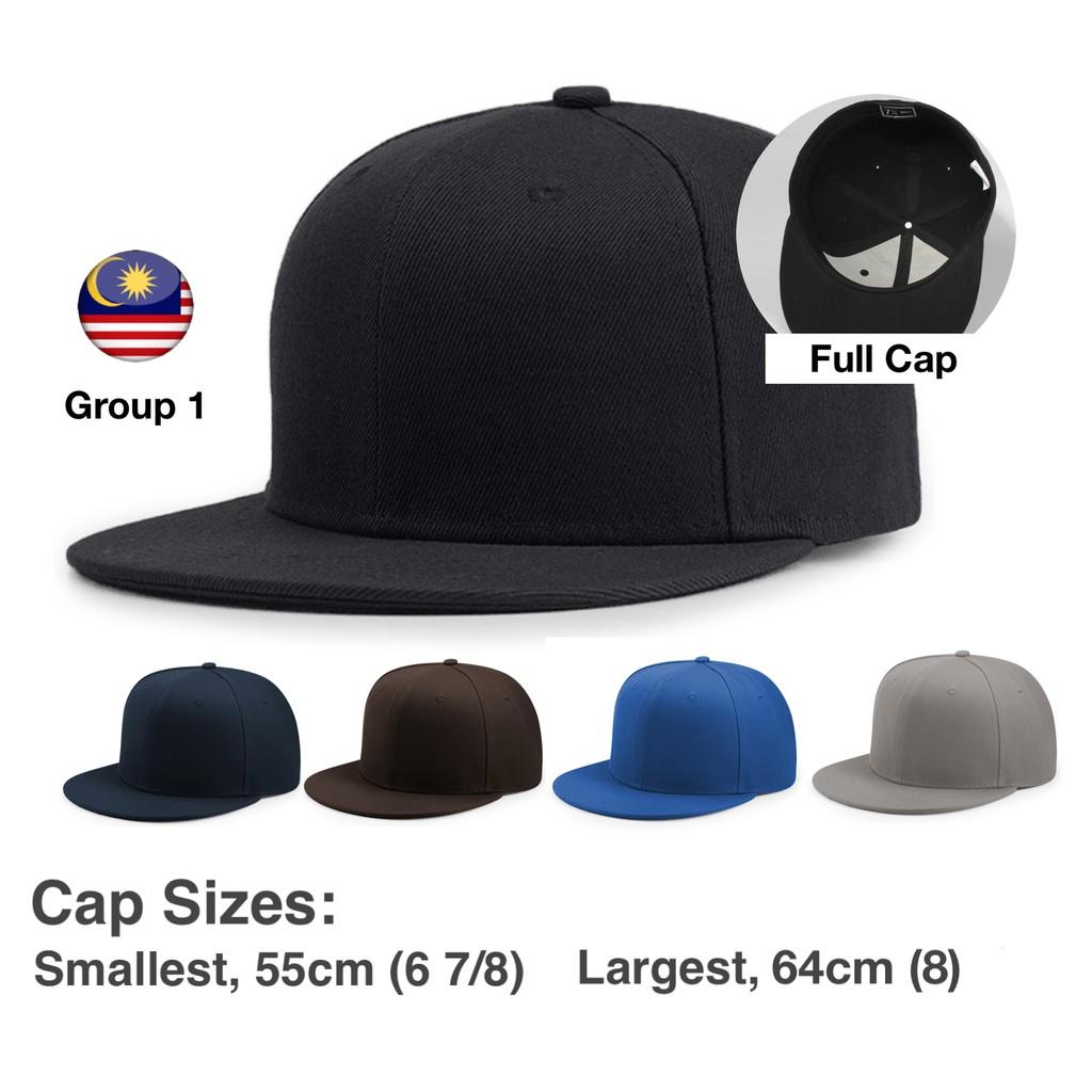 909c075b Group 1, ZX001, Full Cap Plain, Flat-brimmed, All Sizes, Multiple Colours