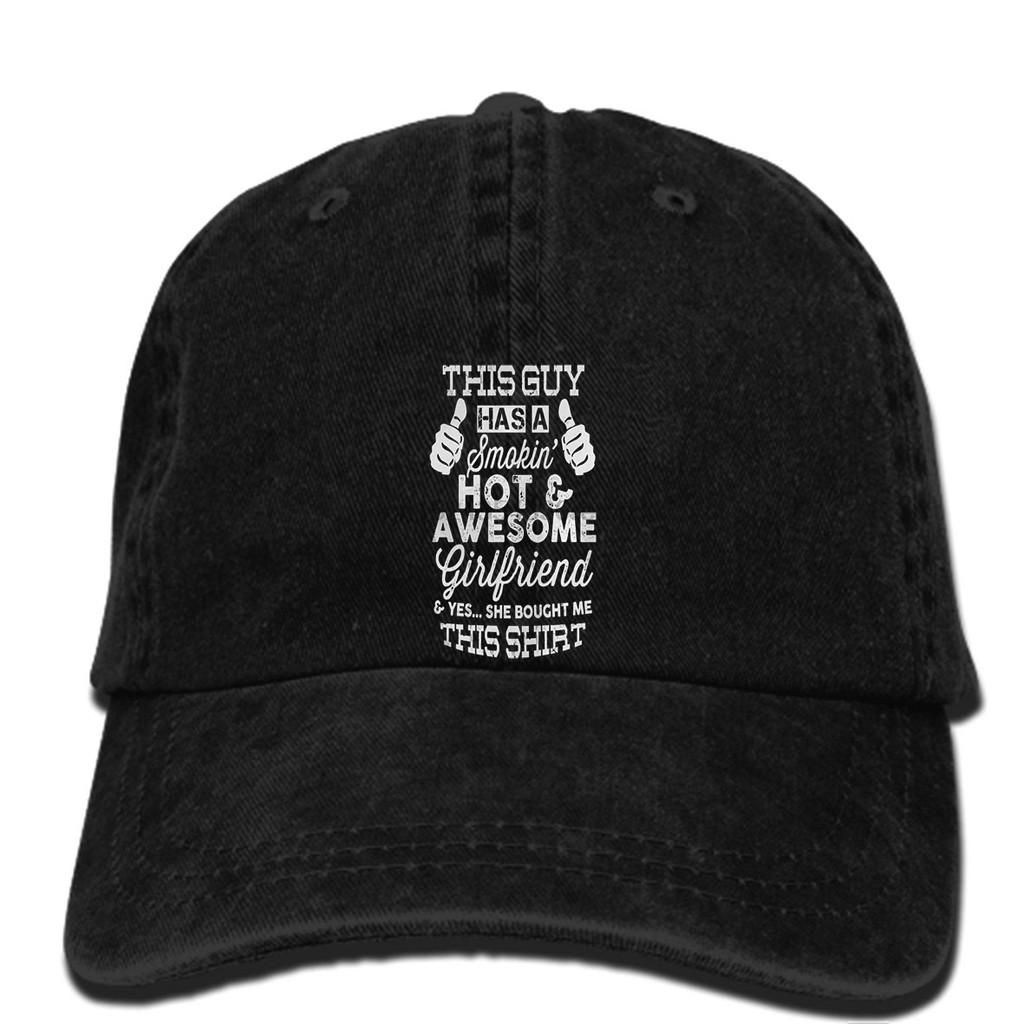 b97a6c92 hat Smokin Awesome Girlfriend boyfriend love cool Baseball cap
