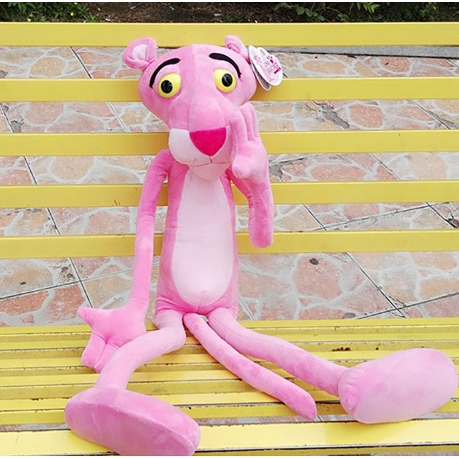 Hot Giant Pink Panther NICI Plush Toy Stuffed Animal Doll Cute Stuffed Toy gift