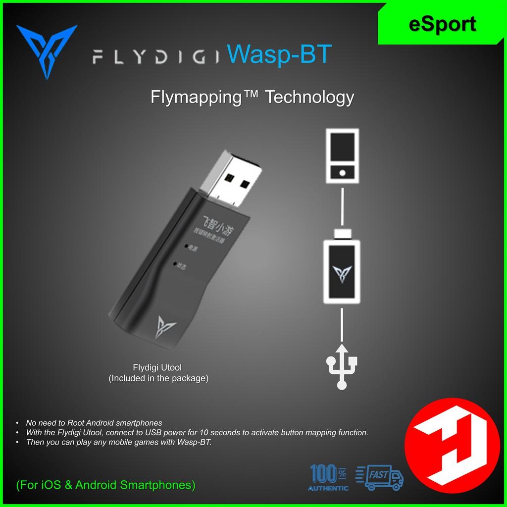 ORIGINAL] FLYDIGI WASP-BT Gamepad for iOS/Android (PUBG, Mobile