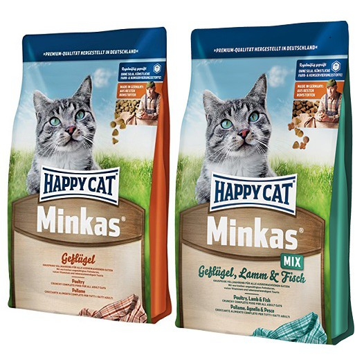 10kg happy cat minkas poultry minkas mix poultry lamb fish