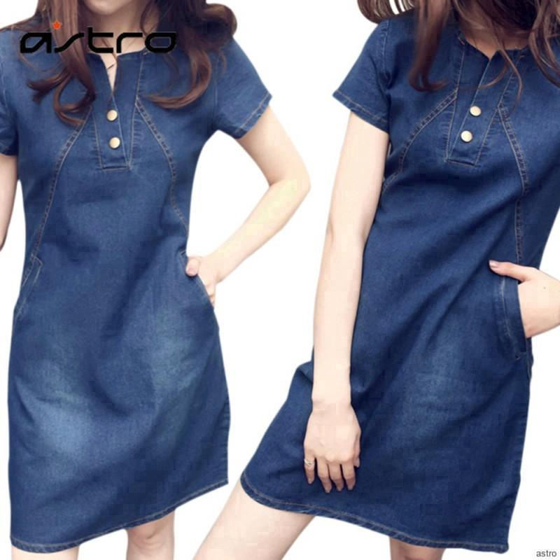 c93dd90704e denim dress - Prices and Promotions - Women s Clothing Mar 2019 ...