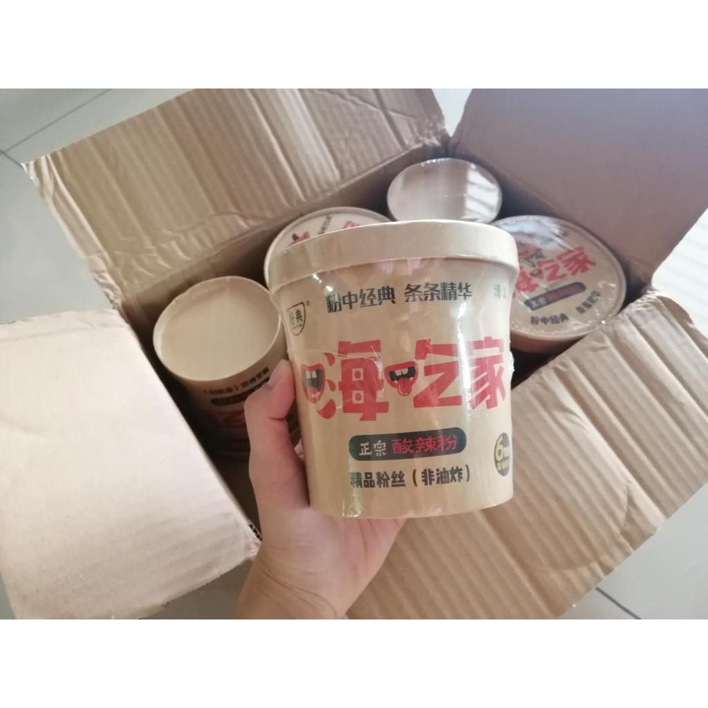 嗨吃家酸辣粉 - 一箱六桶 - 红薯酸辣味粉丝-Spicy & Sour - Suhun - HALAL-Ready Stock !!现货!!