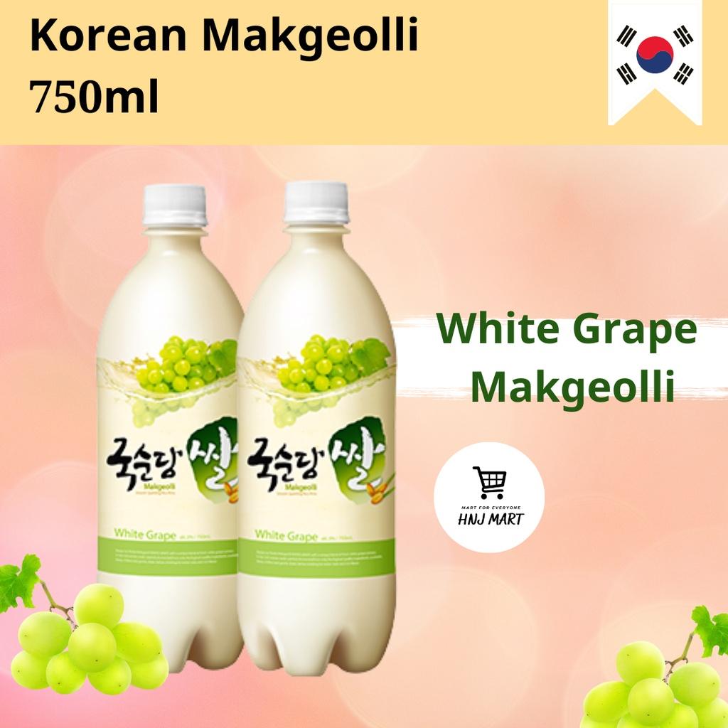 막걸리 Korean Makgeolli 750ml 4 flavours [Original/Peach/Grape/Banana] Makkoli/Makolli Korea KookSoonDang
