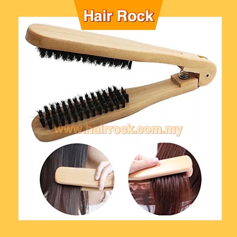 NEK Wooden Straightening Brush (NEK 497)