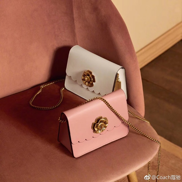 eded04cced5a3 Coach Bowery crossbody with tea rose turnlock