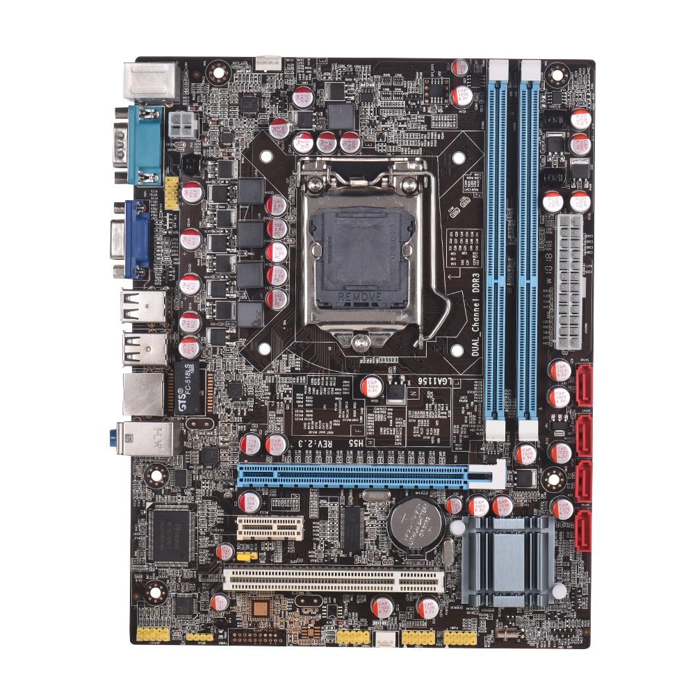 Gigabyte Ga-h81m-s1 Desktop Original Motherboard H81m-s1 Lga 1150 I3 I5 I7 Ddr3 16g Vga Usb2.0 Usb3.0 H81 Free Shipping Fan Cooling Fans & Cooling