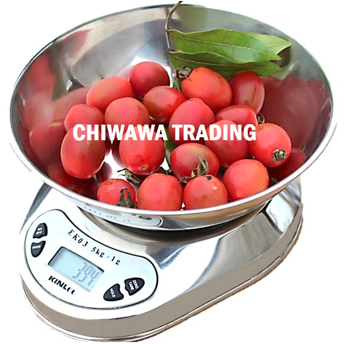 Electronic Digital Scale 5kg Kitchen Weighing Scale Food Diet Postal