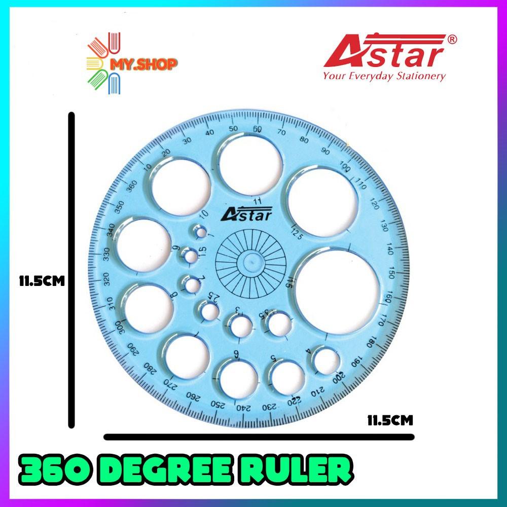 ASTAR PROTRACTOR (360) SL8